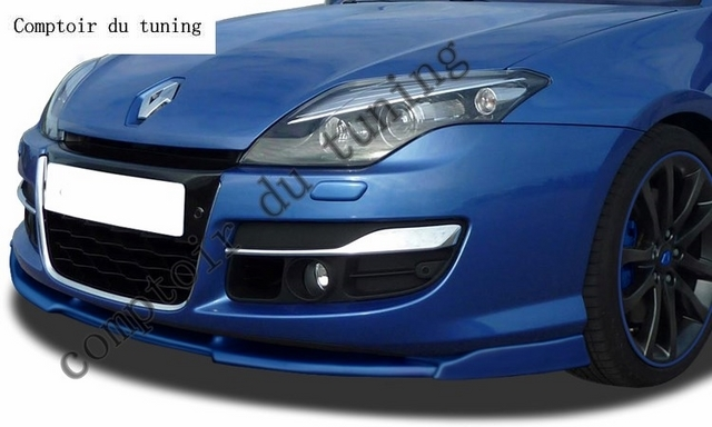front spoiler vario x renault laguna 3 phase 2 2011 fiche produit. Black Bedroom Furniture Sets. Home Design Ideas