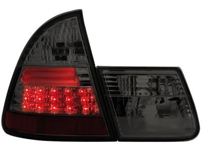 feux arri re led bmw e46 touring 01 06 noir la paire fiche produit. Black Bedroom Furniture Sets. Home Design Ideas