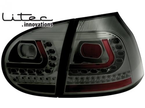 litec feux arri re led vw golf v 03 09 noir fum la paire fiche. Black Bedroom Furniture Sets. Home Design Ideas