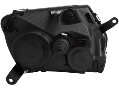 phares noirs dacia duster la paire fiche produit comptoir du tuning. Black Bedroom Furniture Sets. Home Design Ideas