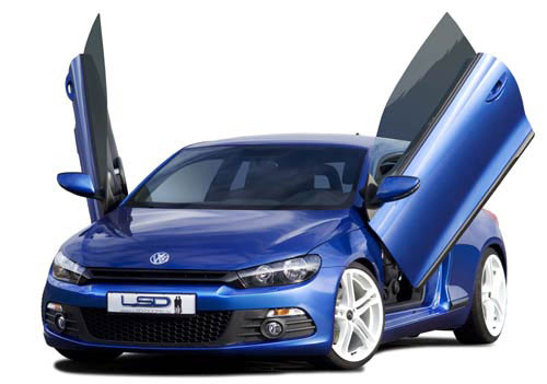 kit lambo doors pour volkswagen scirocco type 13 fiche produit. Black Bedroom Furniture Sets. Home Design Ideas