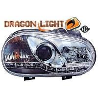 Phare Kit de projecteurs principaux 97-03 KLARGL.CHROM H1/H1