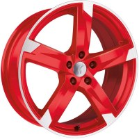 Rondell 01RZ [7,5 x 17] Racing-Rot poliert