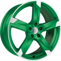 Rondell 01RZ [7,5 x 17] Racing-Grün poliert