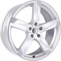 Rondell Z 01RZ [8,0 x 18] Racing Weiß, poliert