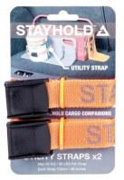 """SANGLES UTILITY POUR ORGANISATEUR DE COFFRE """"STAYHOLD"""" x2"""