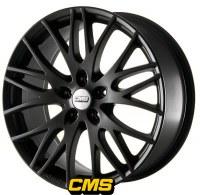 CMS C8 Black [7.5 x 17] ET45 5x108