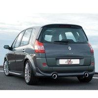 JUPE ARRIERE POUR RENAULT SCENIC 2 2002/2006