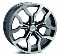 Jantes alu WHEELS ALICE [8.50 x 19] <br>GUN METAL POLISHED