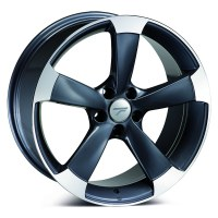Jantes alu WHEELS ANTWERP [8.50 x 19] <br>GUN METAL POLISHED