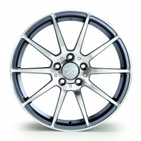 Jantes alu WHEELS MOTION [8.50 x 19] <br>GUN METAL POLISHED
