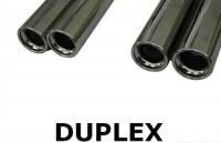 Silencieux arrière Sortie Droite / Gauche 2x80 Duplex