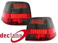 LED feux arrière VW Golf 4 97-04_ red/smoke_ LED Blinker VW VW Golf 4 97-04