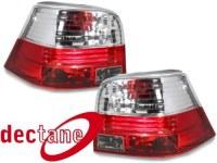 feux arrière VW Golf 4 97-04_ red/crystal VW VW Golf 4 97-04