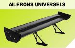 Ailerons, becquets universels