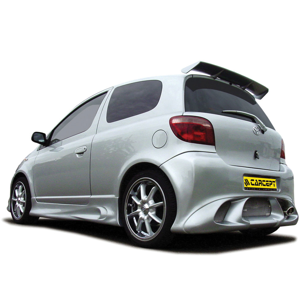 accessoires ext rieur carrosserie pour toyota yaris comptoir du tuning. Black Bedroom Furniture Sets. Home Design Ideas