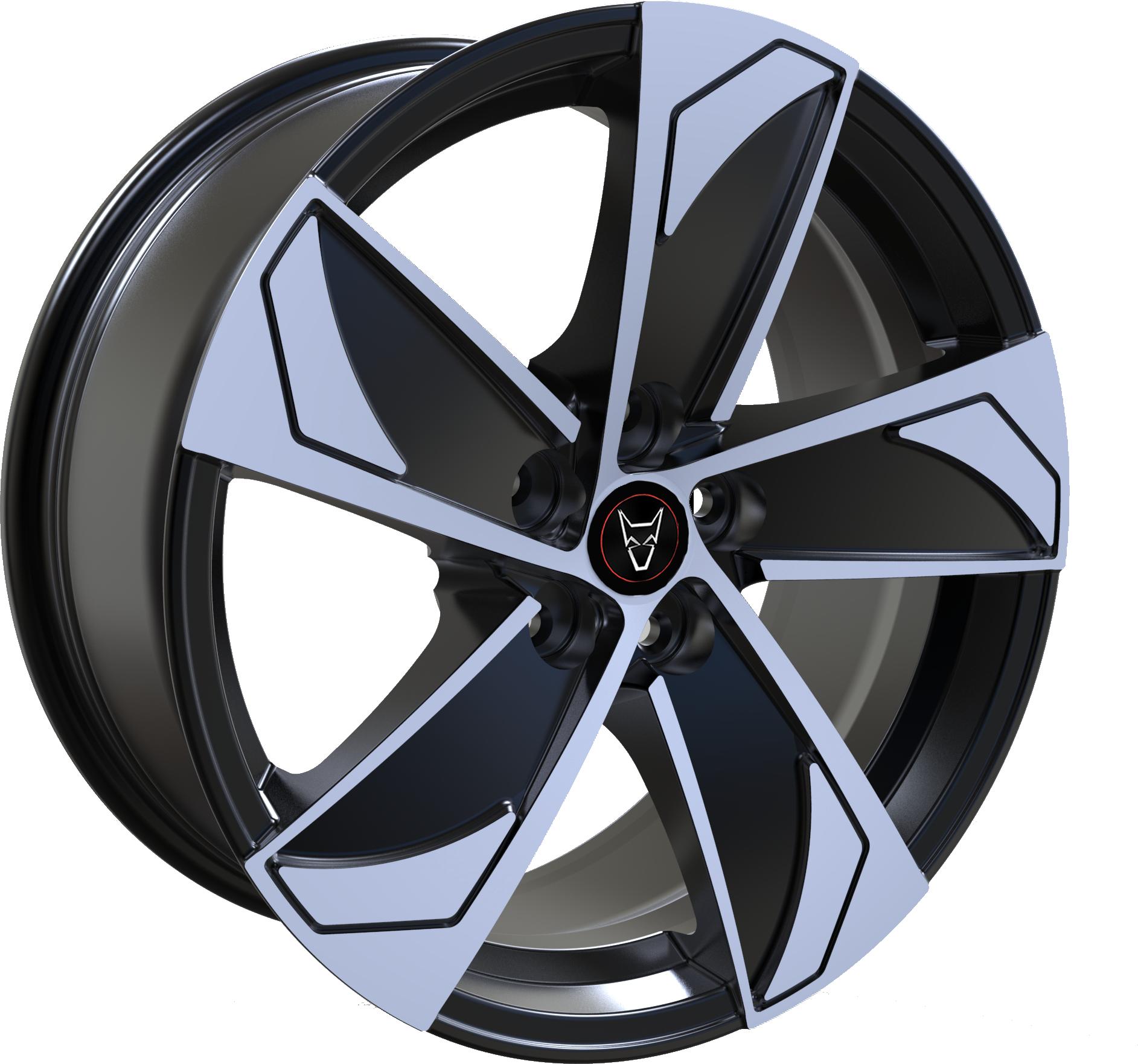 Demon Wheels Eurosport AD5 Gloss Black / Polished