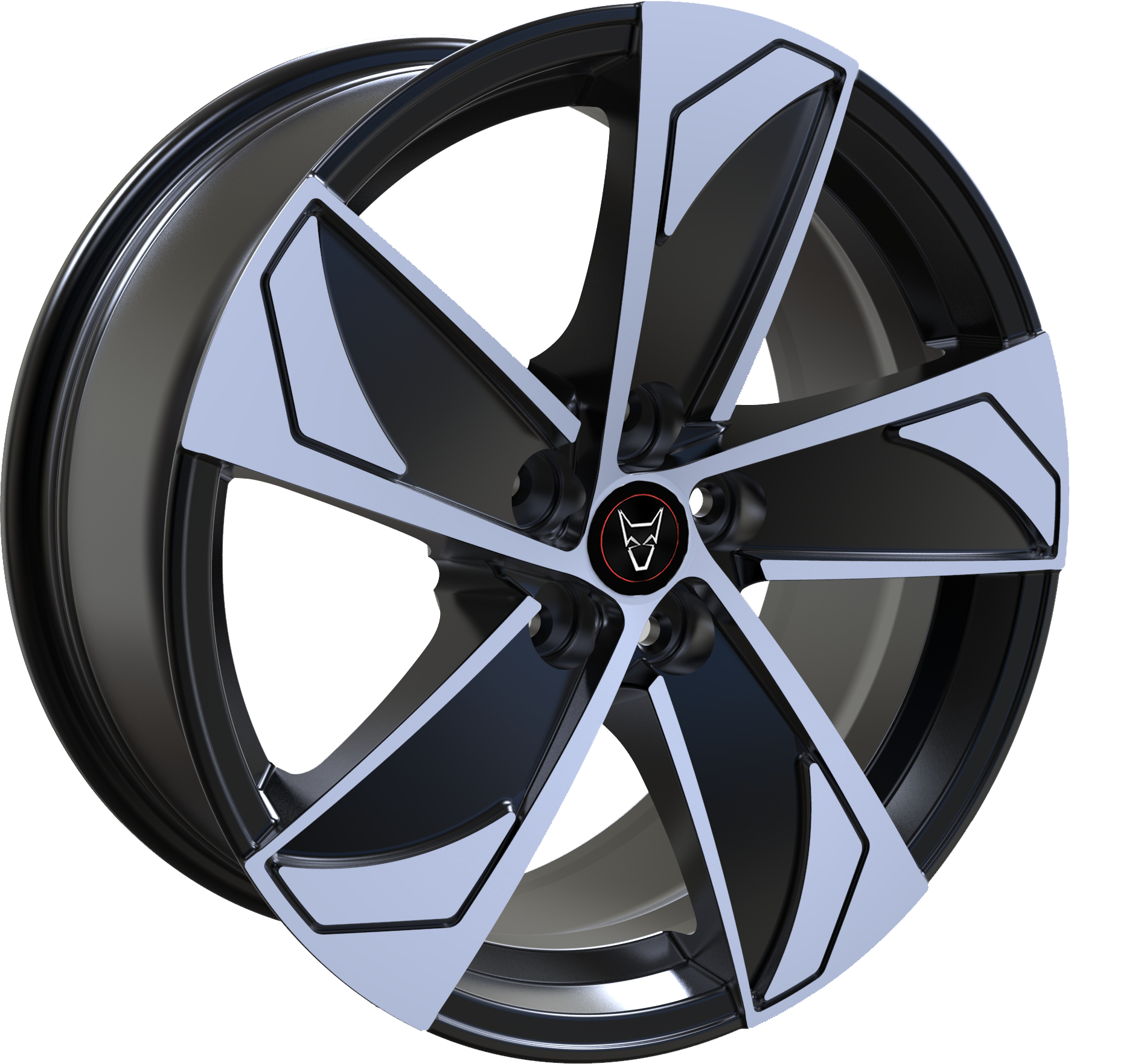 Wolfrace Eurosport AD5 Gloss Black / Polished