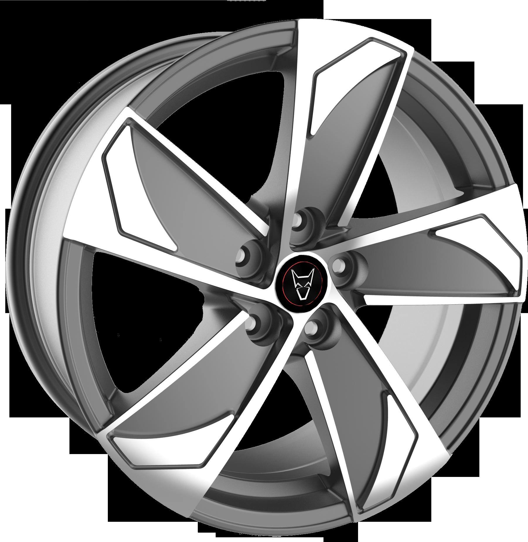 Wolfrace Eurosport AD5 Gunmetal / Polished