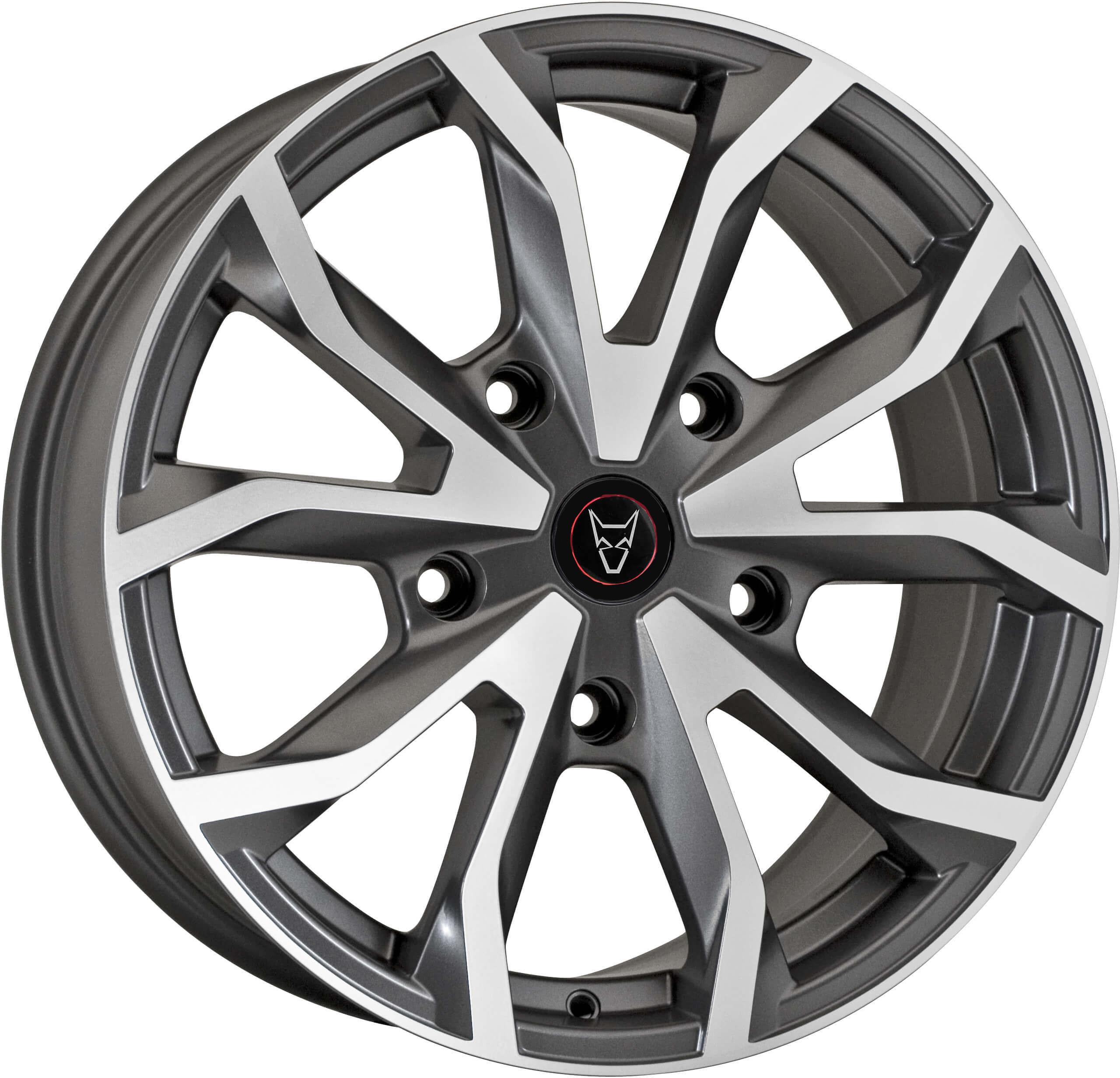 Demon Wheels Eurosport Assassin TRS Gunmetal / Polished