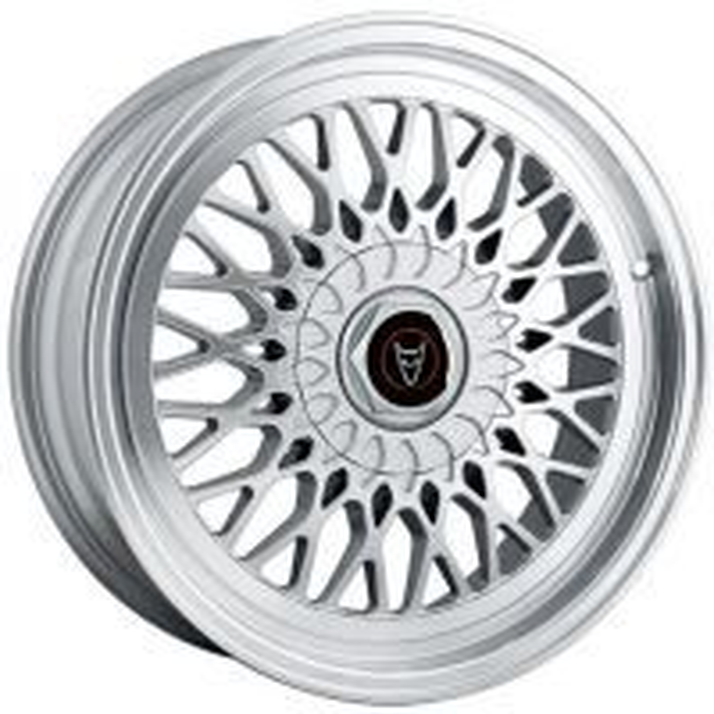 Demon Wheels Eurosport Classic Hyper Silver / Polished Lip