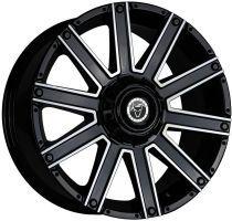 Demon Wheels Eurosport Wolfsburg Gloss Black / Polished