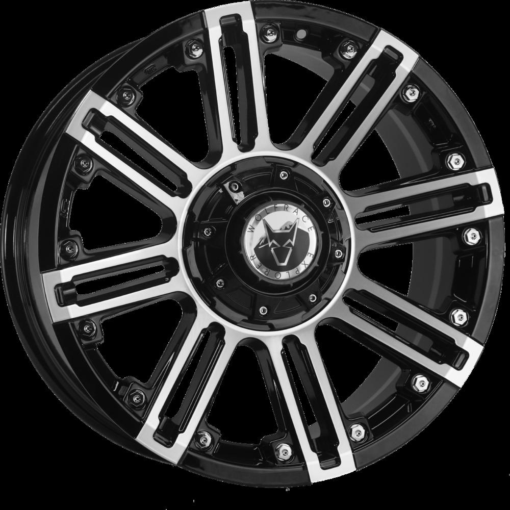 Demon Wheels Explorer Amazon Gloss Black / Chrome rivets