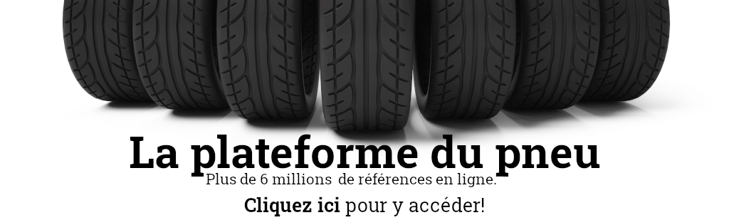 Bannière de pneus
