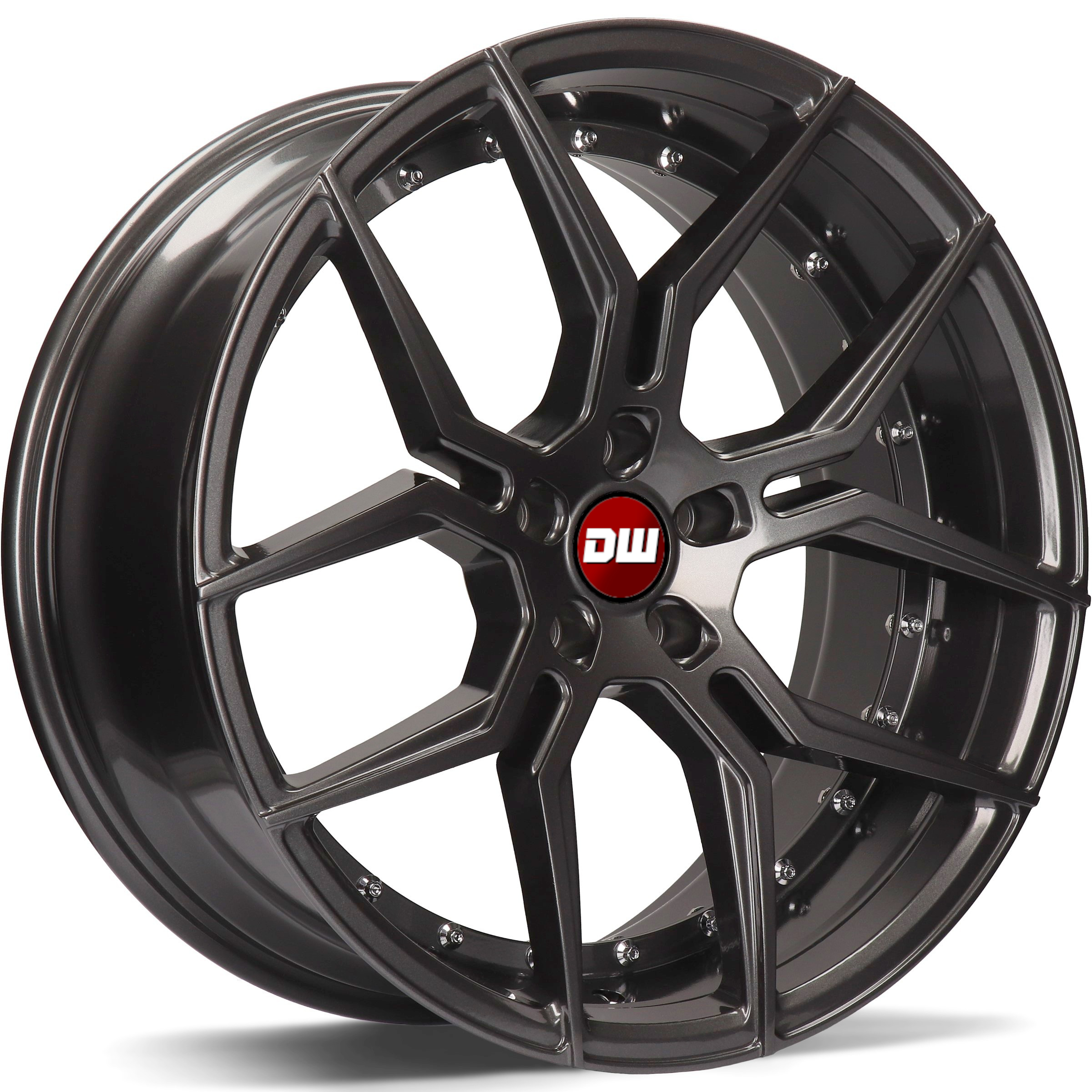 DW Wheels DWV-D Noir Gunmetal