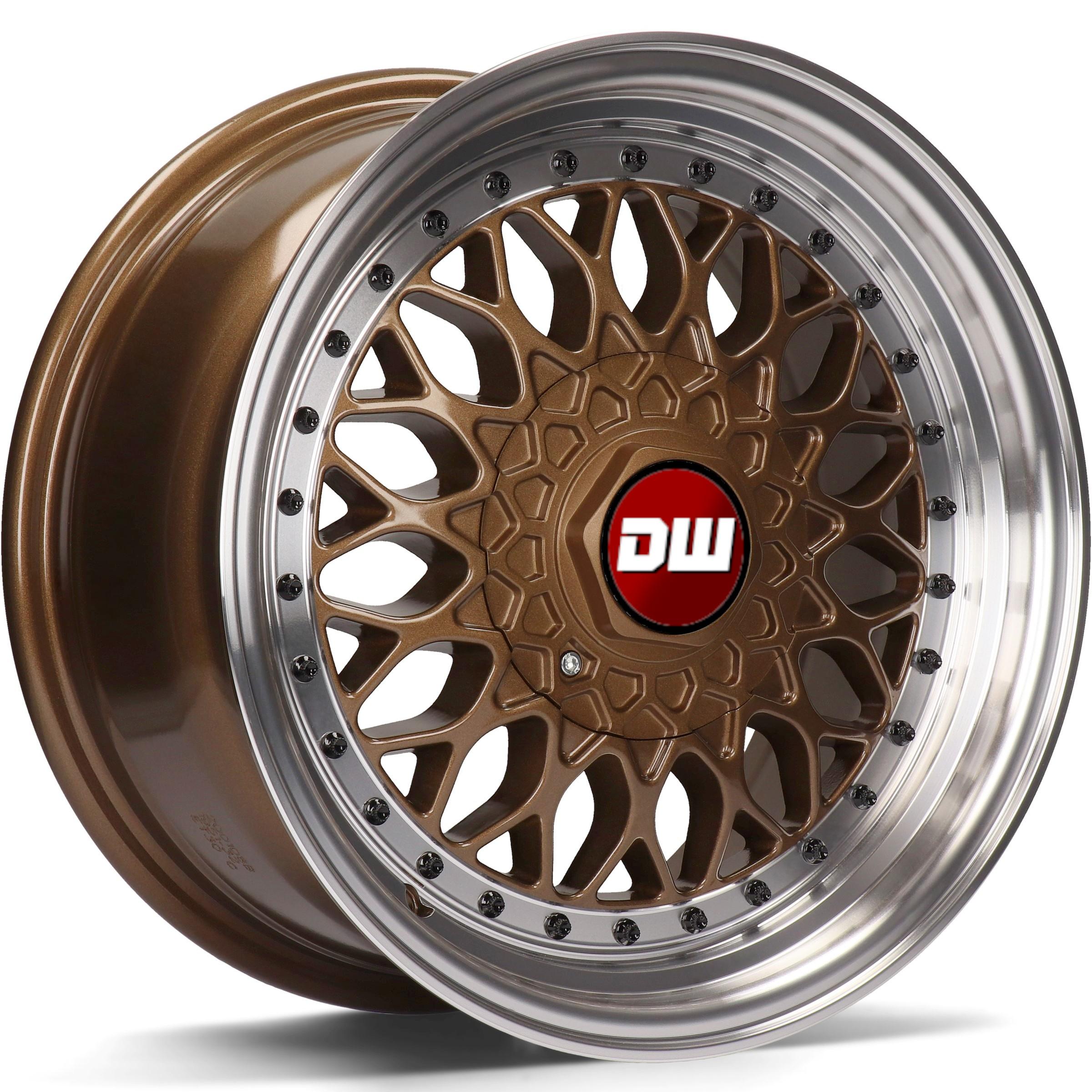 DW Wheels DWV-E Bronze bord Poli