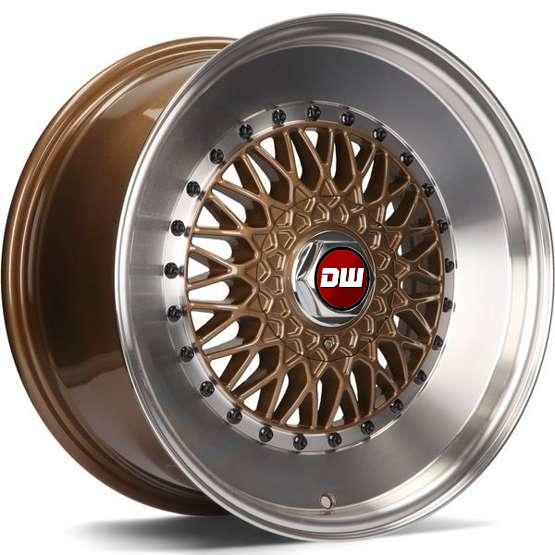 DW Wheels DWV-F Bronze bord Poli