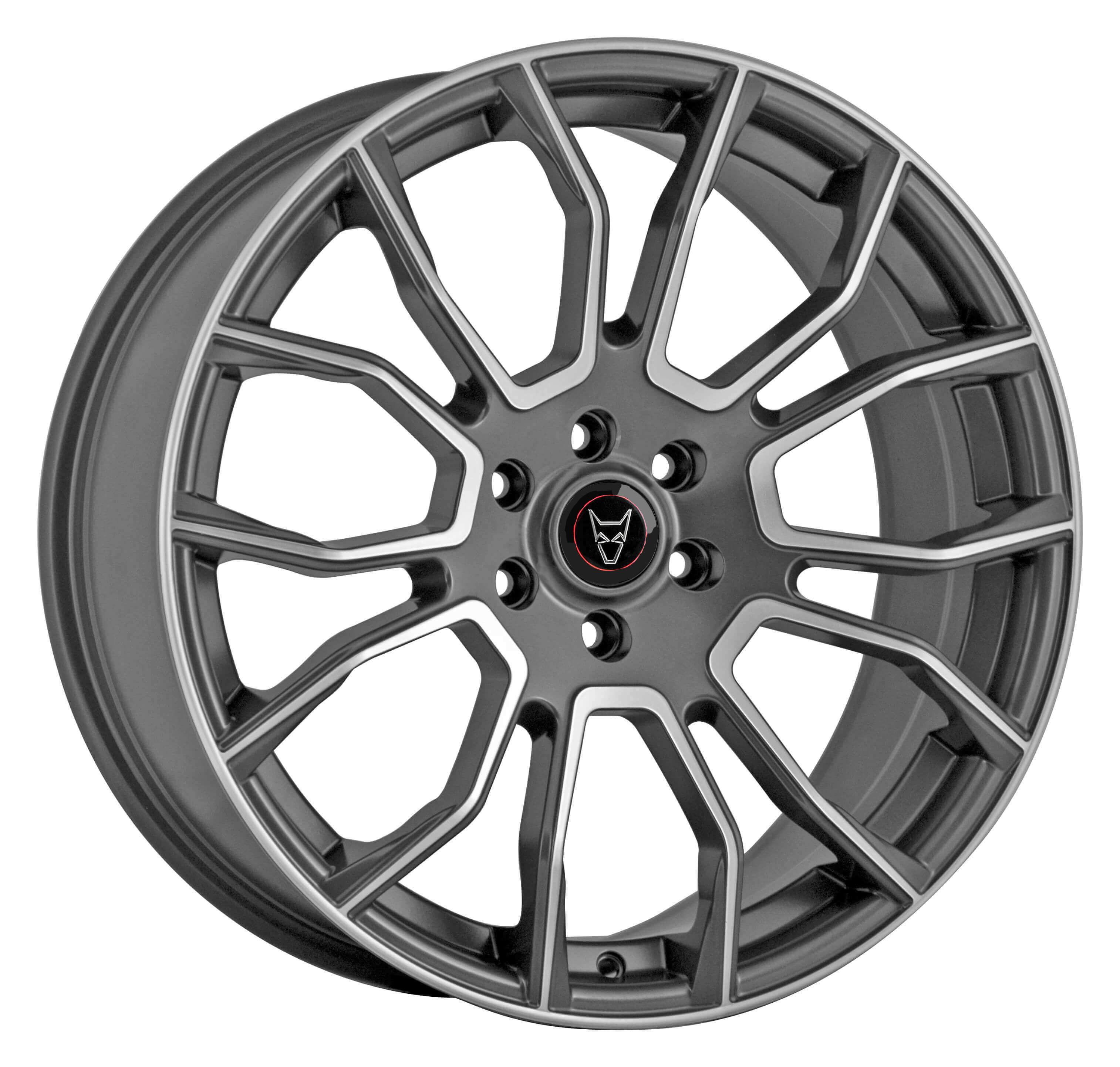 Demon Wheels Eurosport Evoke X Gunmetal Polished