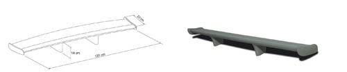 aileron universel de toit comptoir du tuning. Black Bedroom Furniture Sets. Home Design Ideas