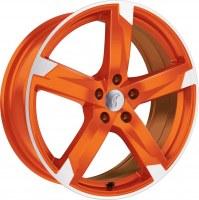 Rondell 01RZ [8,0 x 18] Racing-Orange poliert