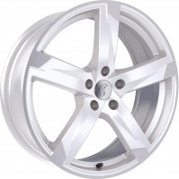 Rondell 01RZ [8,0 x 18] Racing-Weiß poliert