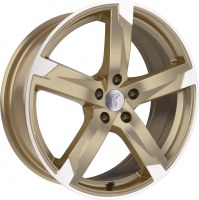 Rondell 01RZ [8,0 x 18] Racing-Gold poliert