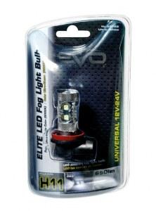 AMPOULE LED 12/24V 50W H11 BLANC - 1PC