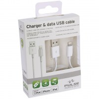 CABLE USB MFI APPLE 100CM