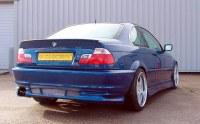 PARE CHOCS ARRIERE POUR BMW SERIE 3 E46 COUPE 98/01
