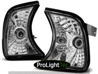 KIT DE FEUX CLIGNOTANTS FRONT DIRECTION CHROME fits BMW E34 02.88-12.95 [eclcdt_tec_KPBM09]