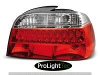 FEUX ARRIERE LED TAIL LIGHTS RED WHITE fits BMW E38 06.94-07.01 (la paire) [eclcdt_tec_LDBM06]