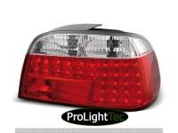 FEUX ARRIERE LED TAIL LIGHTS RED WHITE fits BMW E38 06.94-07.01 (la paire) [eclcdt_tec_LDBM09]