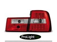 FEUX ARRIERE LED TAIL LIGHTS RED WHITE fits BMW E34 02.88-12.95 SEDAN (la paire) [eclcdt_tec_LDBM16]