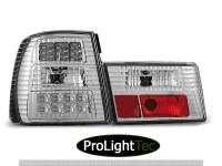 FEUX ARRIERE LED TAIL LIGHTS CHROME fits BMW E34 02.88-12.95 SEDAN (la paire) [eclcdt_tec_LDBM30]