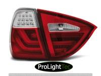 FEUX ARRIERE LED BAR TAIL LIGHTS RED WHIE fits BMW E91 05-08 (la paire) [eclcdt_tec_LDBMB5]