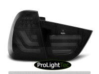 FEUX ARRIERE LED BAR TAIL LIGHTS SMOKE BLACK fits BMW E91 09-11 (la paire) [eclcdt_tec_LDBMC2]