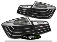 FEUX ARRIERE LED BAR TAIL LIGHTS BLACK CHROME LCI LOOK fits BMW F10 10-07.13  (la paire) [eclcdt_tec_LDBMF9]