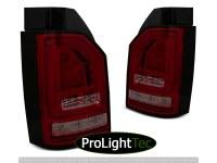 FEUX ARRIERE LED BAR TAIL LIGHTS RED SMOKE SEQ fits VW T6 15-19 OEM BULB (la paire) [eclcdt_tec_LDVWJ3]