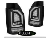FEUX ARRIERE LED BAR TAIL LIGHTS BLACK SEQ fits VW T6 15-19 OEM BULB (la paire) [eclcdt_tec_LDVWJ5]