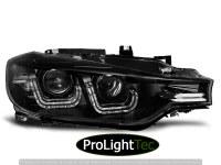 PHARES XENON HEADLIGHTS U-LED LIGHT BLACK fits BMW F30/F31 10.11 - 05.15 (la paire) [eclcdt_tec_LPBMF4]